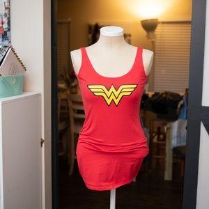 ⚡️ Extra Long Wonder Woman Tank Top